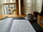 Writing at the Hotel Lotti, Paris