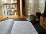 Writing at the Hotel Lotti, Paris
